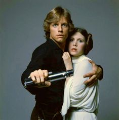 Mark Hamil & Carrie Fisher