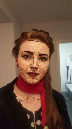 Comic Make up