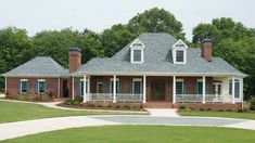 Southern House Plan with 3050 Square Feet and 4 Bedrooms(s) from Dream Home Source | House Plan Code DHSW73568
