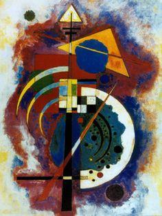 Hommage a Grohmann Prints by Wassily Kandinsky Wassily Kandinsky, Cavalier Bleu, Modern Art, Contemporary Art, Bauhaus, Art Plastique, Framed Art Prints, Art History, Find Art
