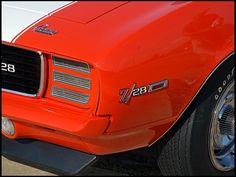 1969 Chevrolet Camaro RS/Z28  302/290 HP, 4-Speed