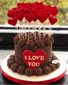valentines day game day sales day 2018 on valentines day is the history of valentines day valentines day about valentines day day nail designs Valentines Day History, Valentines Day Cakes, Cake For Boyfriend, Happy Birthday Cake Images, Birthday Surprise Boyfriend, Cake Decorating Videos, Drip Cakes, Cakes For Boys, Box Cake