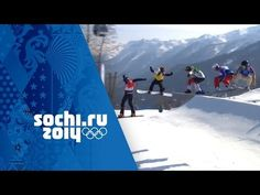 Full coverage of the Big Final in the Ladies' Snowboard Cross event at the Sochi 2014 Winter Olympic Games as the Czech Republic's Eva Samkova wins the gold . Snowboard, Winter Olympics, Guardians Of The Galaxy, New Hampshire, Finals, Skiing, World, Big, Amazing