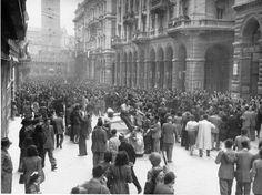 Bologna, 21 aprile 1945, via Rizzoli