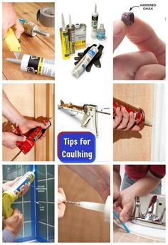 Tips For Caulking: Use these tips for perfect results every time! http://www.familyhandyman.com/painting/tips/tips-for-caulking