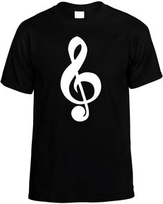 Cleft Note (Music Note Symbol) Career Musical Mens Unisex Novelty T-Shirt Gift #DynastyBlue #GraphicTee