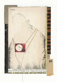 "Melinda Tidwell - The Circular Functions    5.25"" x 7.5""  book covers, pages, graphite, glue, thread, on paper"