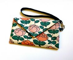 Envelope Clutch by {Leila} Where Orchids Grow, via Flickr