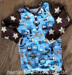lillesol & pelle Schnittmuster/ pattern: Knopfshirt