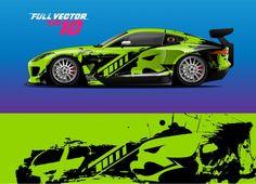 Creative Instagram Names, Car Wrap Design, Design Autos, Vinyl Wrap Car, Racing Car Design, Fancy Cars, Unique Cars, Car Stickers, Grunge