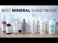 (385) Best 100% Mineral Sunscreens | Review - YouTube