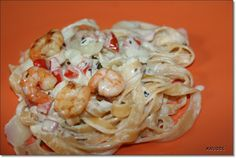 Was cookst Du heute: Tagliatelle sommerlich mit Garnelen