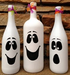 Halloween Crafts For Kids, Halloween Diy, Holiday Crafts, Kids Crafts, Halloween Decorations, Fall Crafts, Halloween Ghosts, Christmas Decorations, Kids Diy