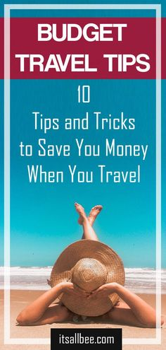 Budget Travel Tips | 10 Tips and Tricks To Save You Money When You Travel. Get the best tips to help you travel cheaply. From Europe to Asia to Africa. How I save money when travelling to reduce costs for flights, food and accommodation when travelling the globe. #travelhacks #budgettravel #travel #solotravel #travelwithfriends #couplestravel