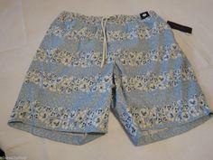 Men's swim trunks board shorts Tommy Hilfiger NEW L 7857217 Chambray 464 Malibu #TommyHilfiger #Trunks