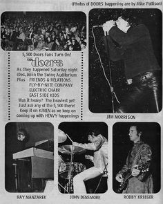 Doors 1967 at the Swing Auditorium