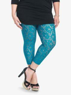 Lace Capri Leggings $28.50 $14.48