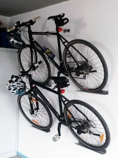Are you a person that has a messing garage that is not prepared. Below are 42 garage storage ideas that will definitely aid you prepare your garage like a champ. Hanging Bike Rack, Bike Hanger, Bicycle Rack, Wall Bike Rack, Bicycle Stand, Hanging Storage, Wall Storage, Garage Organization Systems, Diy Garage Storage
