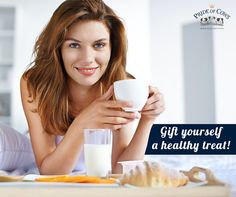 Gift yourself a healthy treat of organic milk from Pride of Cows.