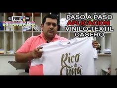 VINILO TEXTIL CASERO PROCESO PASO A PASO DE ESTAMPACIÓN Screen Printing Equipment, Tutu, Diy And Crafts, Cartoons, Crochet, Prints, T Shirt, Pictures, Diy T Shirt