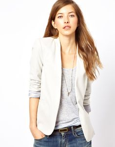 Jersey Blazer >>>I really like this. more stylish than a hoodie but more relaxed than a typical blazer.