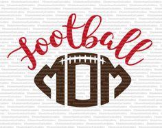 football mom svg cut file sports sport by ChameleonCuttables – American Football Sports Mom Shirts, Football Mom Shirts, Football Moms, Football Stuff, Football Signs, Football Posters, School Spirit Shirts, Sport Craft, Team Mom