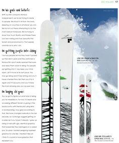 love that ski design