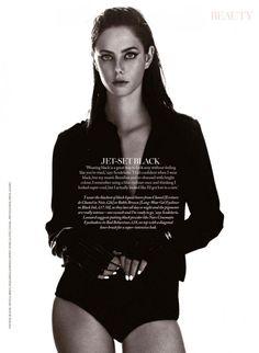 Kaya Scodelario by Jason Hetherington for Marie Claire UK April 2014
