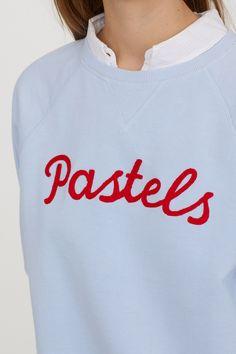 Sweater met motief - Lichtblauw/Pastels - DAMES | H&M NL