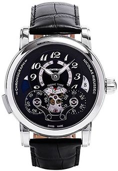MontBlanc Nicolas Rieussec 107070 https://www.carrywatches.com/product/montblanc-nicolas-rieussec-107070/  #chronograph #men #menswatches #montblanc #montblancwatch #montblancwatches - More Mont Blanc mens watches at https://www.carrywatches.com/shop/wrist-watches-men/montblanc-watches-for-men/