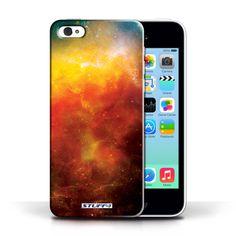 Designer Mobile Phone Case / Space/Cosmos Collection / Orange Nebula #designer #case #cover #iphone #smartphone #space #cosmos