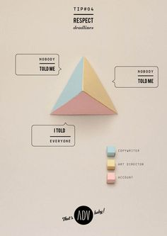 "THAT'S ADV, BABY! - ""Manifesto"" by Fabrizio Tarussio, via Behance"