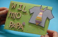 Si avvicina la Festa del Papà ed ecco per voi un tutorial che vi guida passo passo alla realizzazione di un bellissimo biglietto d'auguri fai da te.