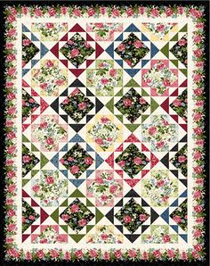 Download Free Pattern Garden Echo by Maywood Studio. Free Sewing and quilting patterns, tips and more at the FabShop Hop!