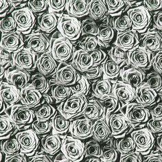 Blusenstoff Rosas 2 - Polyester - grau