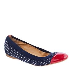 Love these J. Crew ballet flats!