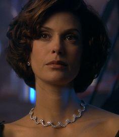Paris Carver appeared in the 1997 James Bond film Tomorrow Never Dies