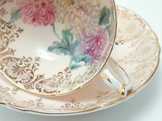 Paragon Vintage Fine Bone China Tea Cup and door TheVintageFind1