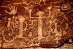Anasazi Petroglyphs (also called rock engravings) are pictogram and logogram images created by removing part of a rock surface by incising, picking, carving, and abrading. Ancient Mysteries, Ancient Artifacts, History Of Animation, Native American Ancestry, Cave Drawings, Art Antique, Art For Art Sake, Ancient Aliens, Pictures To Draw