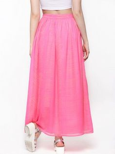 Femella Hi-Low Maxi Skirt buy from koovs.com | skirts online ...