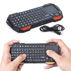 Bluetooth клавиатура с удобной сенсорной панелью #ПУЛЬТ #МЫШЬ #BLUETOOTH