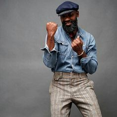 HAPPY BIRTHDAY @eclecticlifestylesbypercyhicks!! #GrayBeard #DapperGent @Regrann from @eclecticlifestylesbypercyhicks - - NOW ON TO THE BIRTHDAY SHENANIGANS -  captured by @newyork_thebeautiful // #birthday #gentleman #beard #bearded #readventures #reathegal #readagal