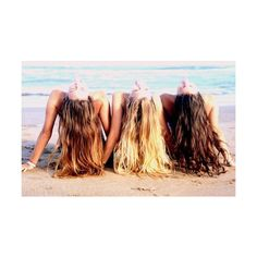 Every blonde needs a brunette best friend.