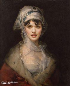 Rachel Weisz | 25 Classic Paintings Improved By Celebrities
