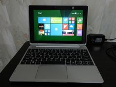 "Acer Aspire SW5-012 10.1"" (Intel Atom 1.33GHz 2GB 32GB) Laptop / Tablet"