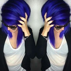 Arctic Fox Hair Dye - Purple Rain and Poseidon - Unknown Artist