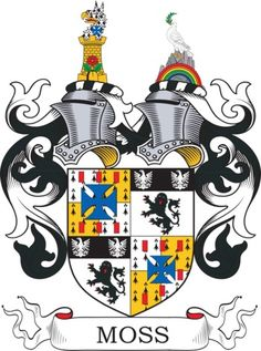 Moss Family Crest and Coat of Arms
