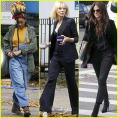 Rihanna, Cate Blanchett & Sandra Bullock Continue Filming 'Ocean's Eight' in NYC