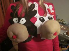 DIY ugly christmas sweaters | DIY Ugly Christmas Sweater!? | Too Bad Im Not Crafty