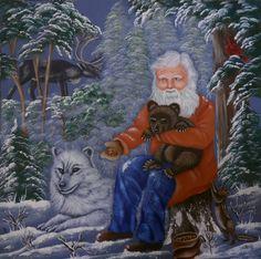 Papai Noel e animais - Andy